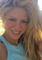 Shakira drillet med selfie-billede! Shakira, selfie, Gerard Piqué