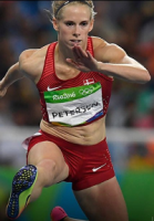 Slott slappede af og vandt OL-sølv! Sara Slott, OL, sølv, hækkeløb