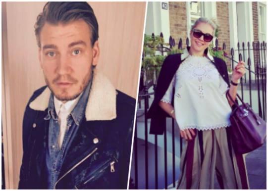 Bendtner tog Caroline på tur i København! Nicklas Bendtner, Caroline Fleming