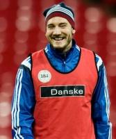 Bendtner igen på landsholdet! bendtner, fodbold, morten olsen