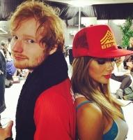 Ed Sheeran scorer Pussycat Dolls-skår! ed sheeran, Nicole Scherzinger
