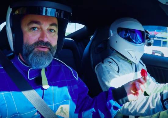 Chili Klaus' chili-stunt i Top Gear! Chili Klaus, Top Gear, The Stig