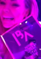 Mascha Vang chokeret og i tårer! Mascha Vang, nordic blogger of the year, paradise hotel, blogger awards, helsinki, frederik fetterlein, fetter