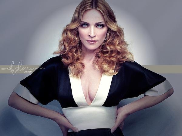 Billede: Madonna i afslørende kjole! Madonna, kjole, Vogue