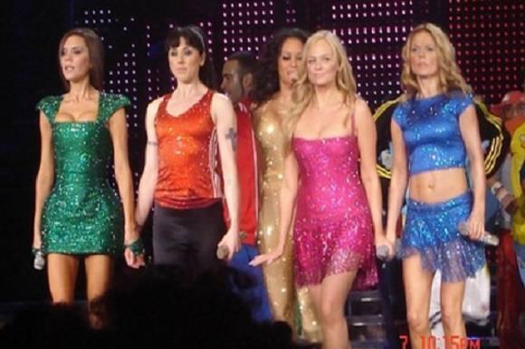 Spice Girls genopstår med nyt navn! Spice Girls, genopstår, Geri Horner, Emma Bunton og Mel B.