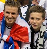 Beckham-søn laver aftale med tophold! david beckham, brooklyn beckham, fodbold