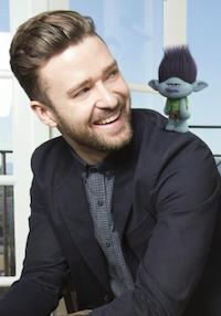 Timberlake til grandprix! Justin Timberlake, Can't stop the feeling, Trolls, grandprix, eurovision