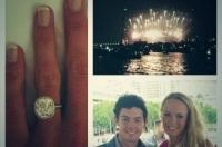 Wozniackis forlovelsesring koster en million! Caroline, Wozniacki, Rory, Mcilroy, forlovet, kærester, sex, gift