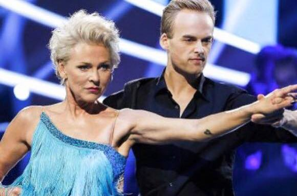 Egelinds dansepartner skadet: Se afløseren! søs egelind, Frederik Nonnemann