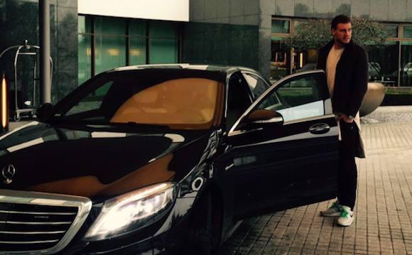 Bendter tilbage bag rattet! Nicklas Bendtner, spritkørsel