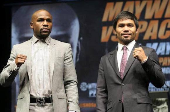 Mayweather varsler Pacquiao-rematch! Floyd Mayweather Jr., Manny Pacquiao