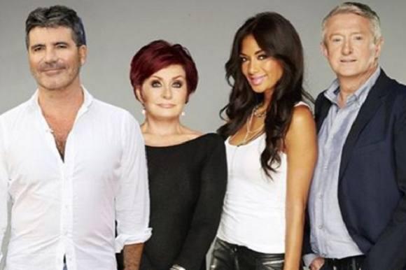 Seerne flygter fra X Factor! X Factor, Simon Cowell, Sharon Osbourne, Nicole Scherzinger