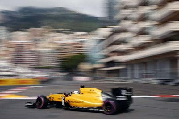 Magnussen i barrieren i Monaco! Kevin Magnussen, Renault, crash, Monaco, Formel1, F1, Grand prix
