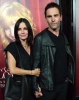 'Joey' og 'Monica' kysser i Hollywood! friends, venner, courteney cox