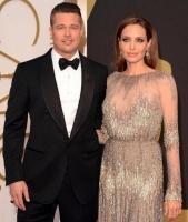 Jolie og Pitt hemmeligt gift! angelina jolie, brad pitt, hollywood