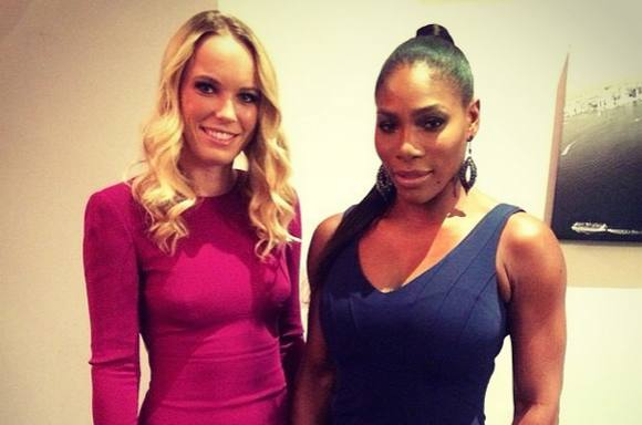 Se Serenas intime besked til Caroline!  caroline wozniacki, serena williams