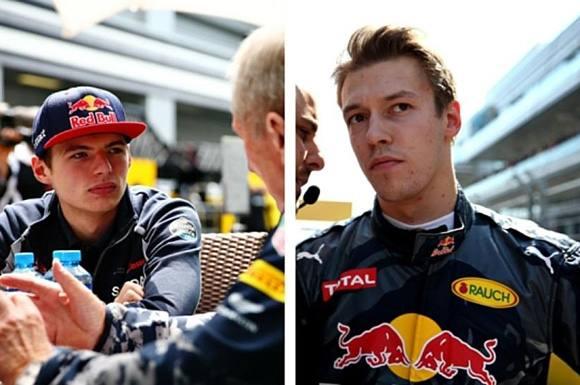 Kvyat smidt af holdet! Red Bull, Formula1, Formel1, Toro Rosso, Daniil Kvyat, Max Verstappen, Sebatian Vettel