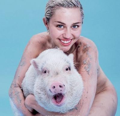 Miley nøgen og dirty på blad-cover! miley cyrus, kim kardashian