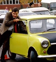 Mr. Bean sælger sin bil for 100 mio.! mr. bean, rowan atkinson, mclaren