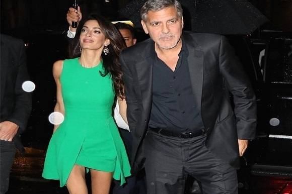 George Cloony lever under konstant beskyttelse! George Cloony