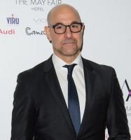 Hollywoodstjerne flov over sin kone! stanley tucci, felicity blunt, hunger games