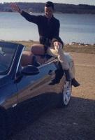 Gustavs nye bil smadret på tanken! Gustav, Shell, BMW, single, kæreste, bil