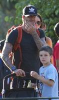 Beckham: Mine b�rn bliver popul�re! David Beckham, Victoria, Beckham, Spice Girls
