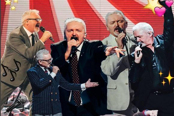 Andrew faldt om på scenen i X Factor! Andrew, X Factor, Blachman