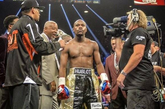 Mayweather mister boksebrags-titel! floyd mayweather, Manny Pacquiao
