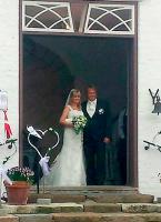 Billede: Kandis-Johnny er blevet gift! Kandis, Johnny Hansen, gift, Gitte Mortensen