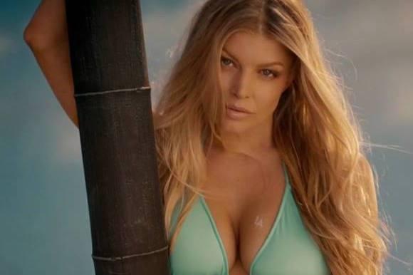 Fergie: Sådan holder jeg bikiniformen! fergie, black eyed peas