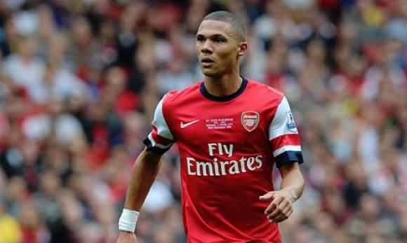 Engelsk landsholdsspiller scorer dansk skønhed! kieran gibbs, fodbold, arsenal