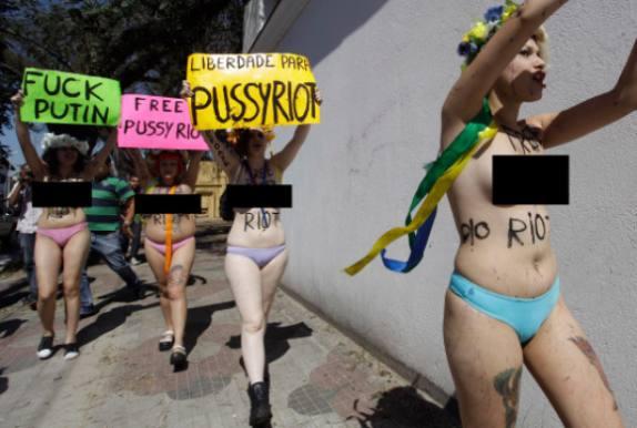 Pussy Riot kommer til Danmark! Pyssu Riot, Roskilde Festival, Rusland, Putin