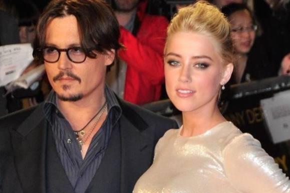 Kæresten træt af Depp: Aflyst bryllup? johnny depp, amber heard, hollywood