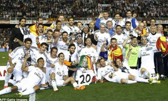 Real Madrid vandt Champions League! Real Marid, Champions League, mestre, Atletico Madrid