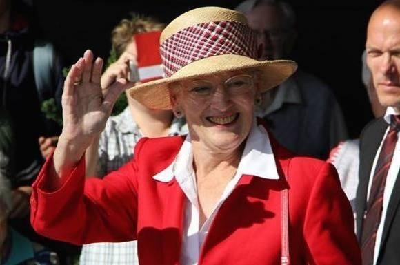 Margrethes joke om Frederiks ulykke!  Dronning Magerthe, joke, Kronprins Frederik