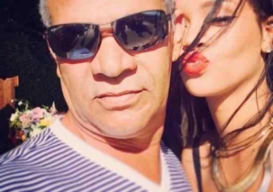 Rihannas stive far bortvist fra fest! rihanna, ronald fenty