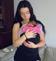 Her er navnet på Irinas nyfødte datter! irina babenko