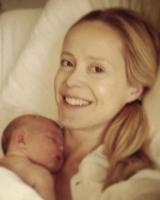 Se Tina Dickows nyfødte barn! Tina Dickow, barn, fødsel, single, kæreste