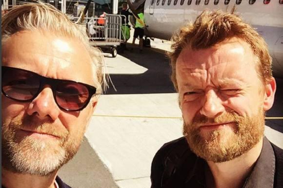 Casper og Frank laver ny film! Casper Christensen, Frank Hvam, De første danske jordbær