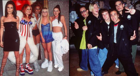 Backstreet Boys og Spice Girls på turné sammen? Backstreet Boys, Spice Girls, turne