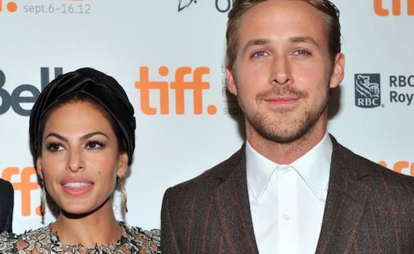 Gosling og Mendes' hemmelige barn! Ryan Gosling, Eva Mendes, gravid