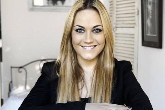 Amalie Szigethy har født! Amalie Szigethy, født, Mikkel Skelskov, datter