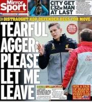 Grædende Agger vil til Barça! Agger, fodbold