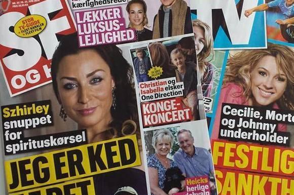 Se og Hør lukkes i Sverige! se og hør, aller, sverige