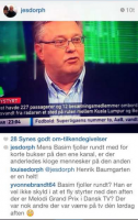 Jes Dorph: Basim er fjollet og dum! Jes Dorph, Basim, Melodi Grand Prix, Eurovision, TV2 News, DR