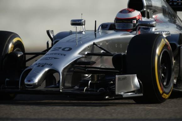 Magnussen starter helt fremme på Silverstone !  kevin magnussen, f1, jenson button,