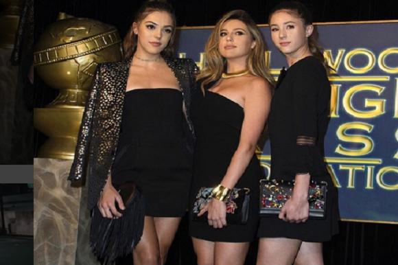 Stallones døtre vinder skønhedspris! Sylvesters Stallones, døtre, skønhedspris