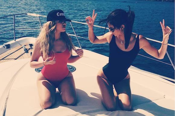 Kardashian-klanen blotter balderne! khloe kardashian, kendall jenner