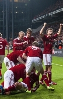 Morten Olsen dropper Bendtner! Morten Olsen, Bendtner, landshold, Danmark, Ungarn, Sverige